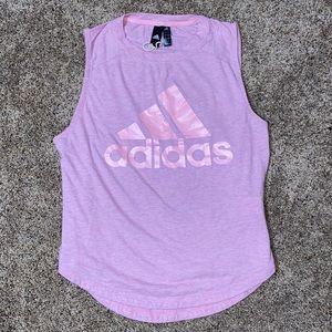 Pink Adidas Tank Top